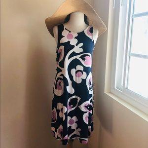 Ann Taylor Mod Floral Knit Dress